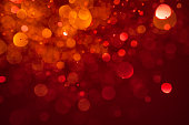 Abstract red glitter background - Love Christmas Party Dynamic