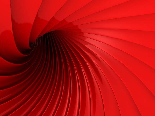 Abstrakt Rot glänzenden Welle futuristisch Hintergrund – Foto