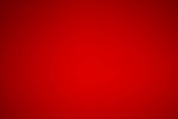 abstract red gradient color background, christmas, valentine wallpaper - vermelho imagens e fotografias de stock