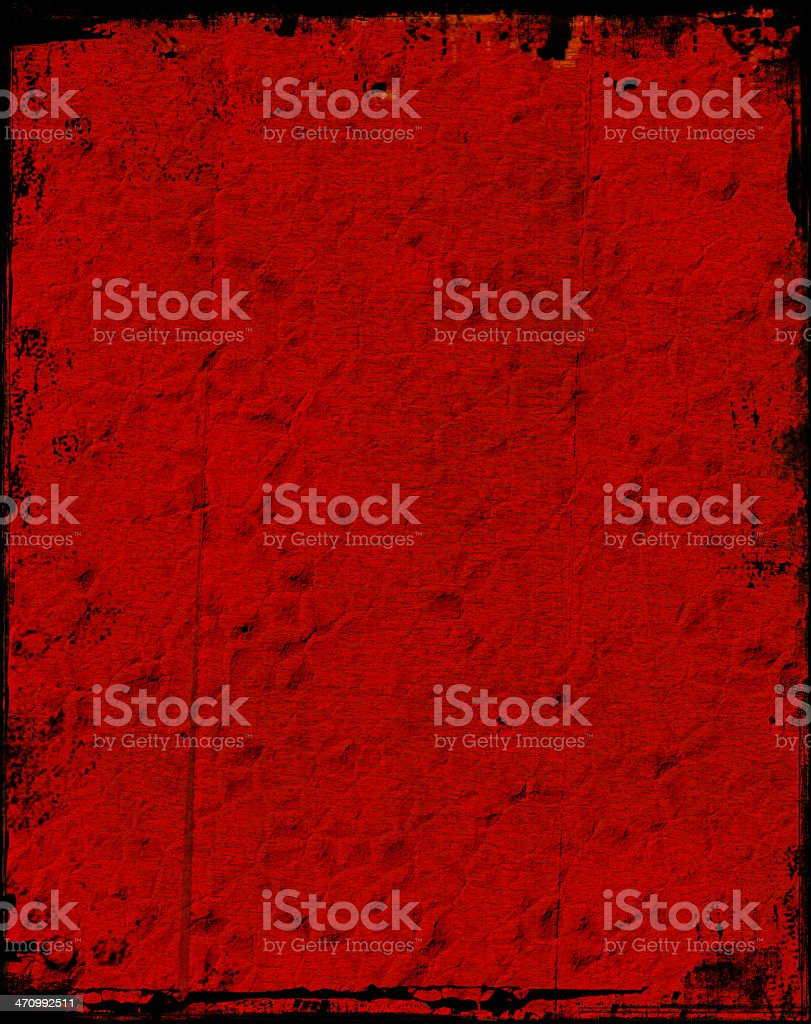 Abstract - Red Grungy Background stock photo
