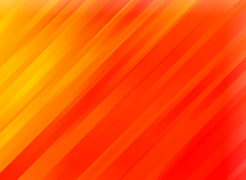 Abstract red motion diagonal stripes background. Glowing wallpaper