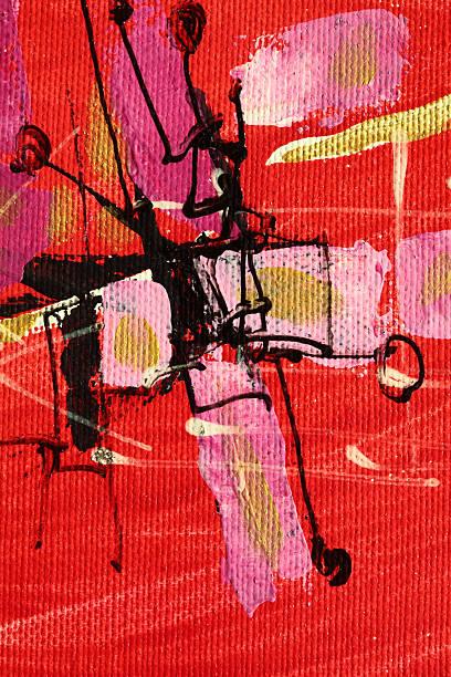 Abstrakte cross – Foto