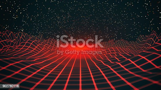 927062500 istock photo Abstract Red Retro Background 902780116