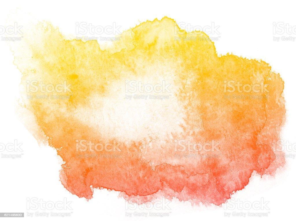 Abstrakt Rot Aquarell Hintergrund. Lizenzfreies stock-foto