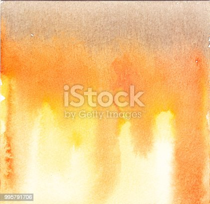 istock Abstract red watercolor background 995791706