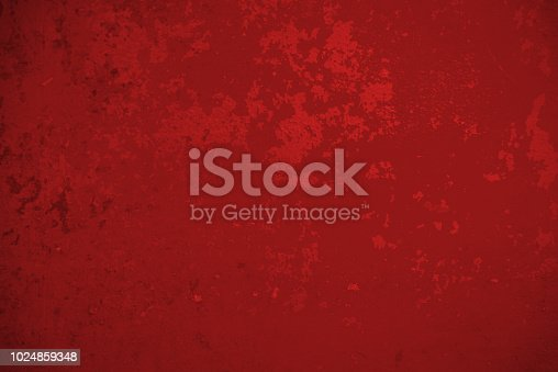 636061068 istock photo Abstract Red Weathered Wall Background 1024859348