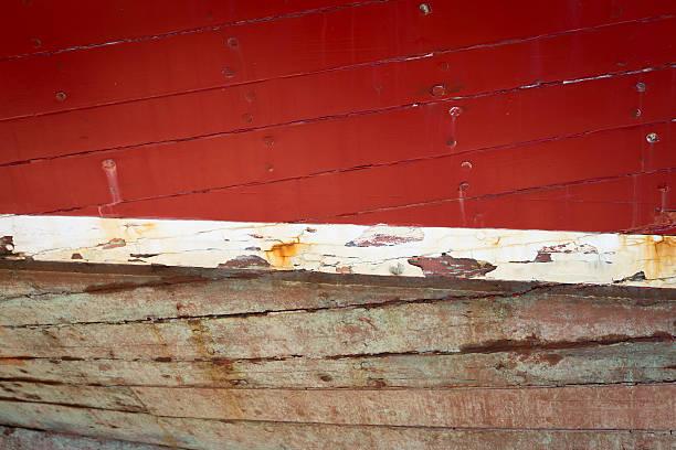 Abstract Red Wood Texture - foto de acervo