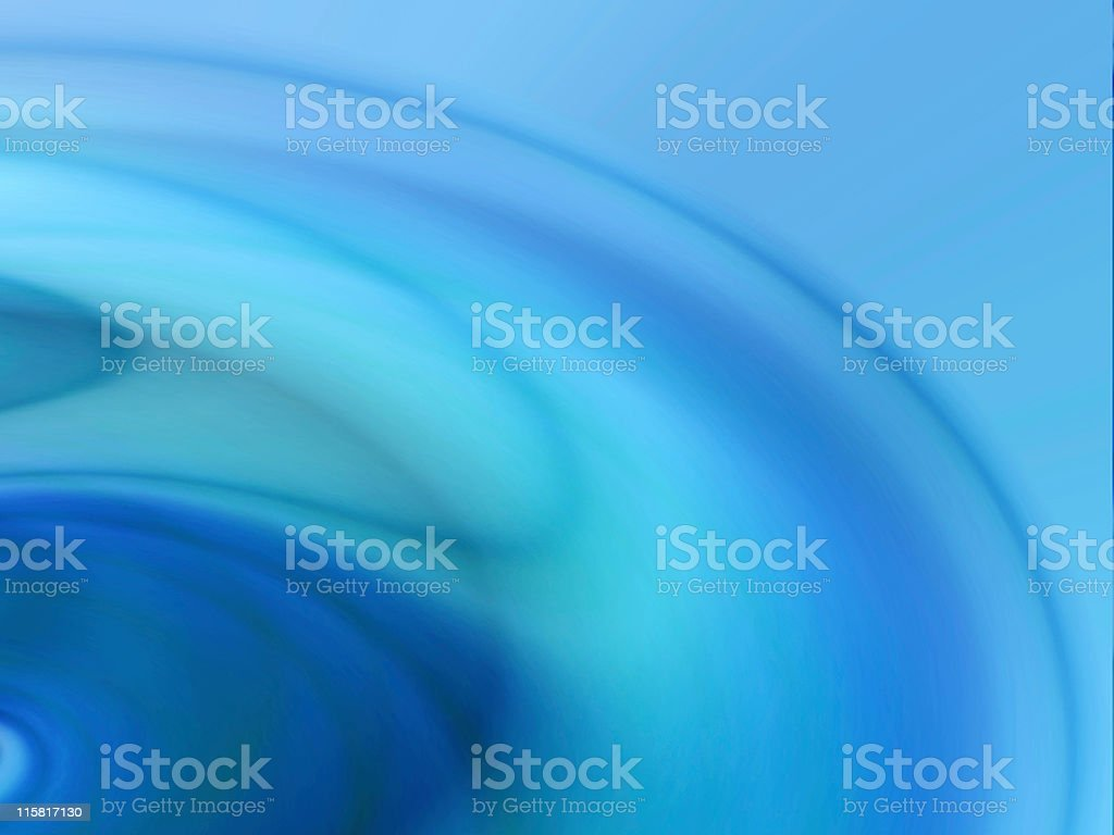 Abstract rendition of a blue water-ripple background royalty-free stock photo