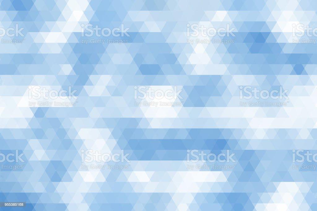 abstract retro summer blue pattern of geometric shapes texture background - Zbiór zdjęć royalty-free (Abstrakcja)