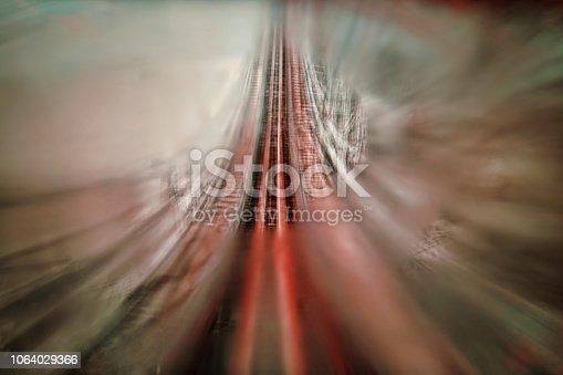 Upward roller coaster