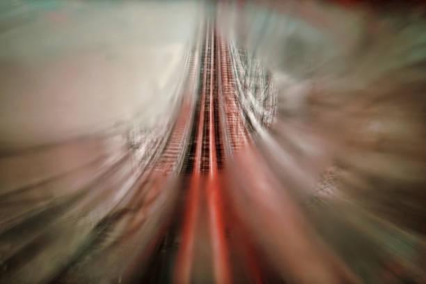 resumen de montaña rusa - roller coaster fotografías e imágenes de stock