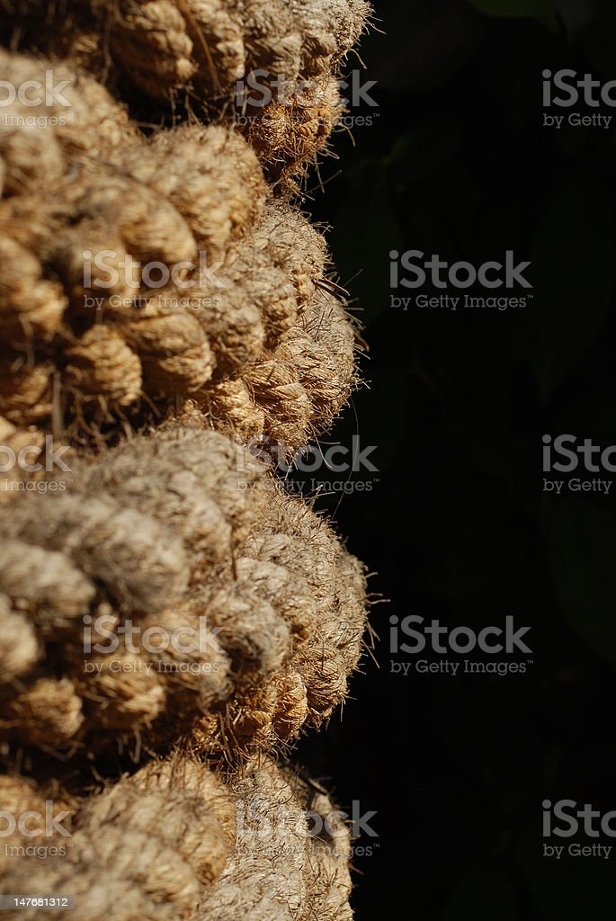 Abstract Rope Background royalty-free stock photo