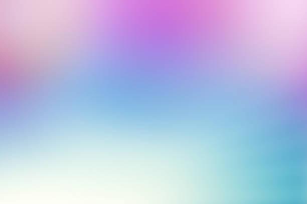 Abstract Rose Quarz Serenity Blue Defocused Background stock photo