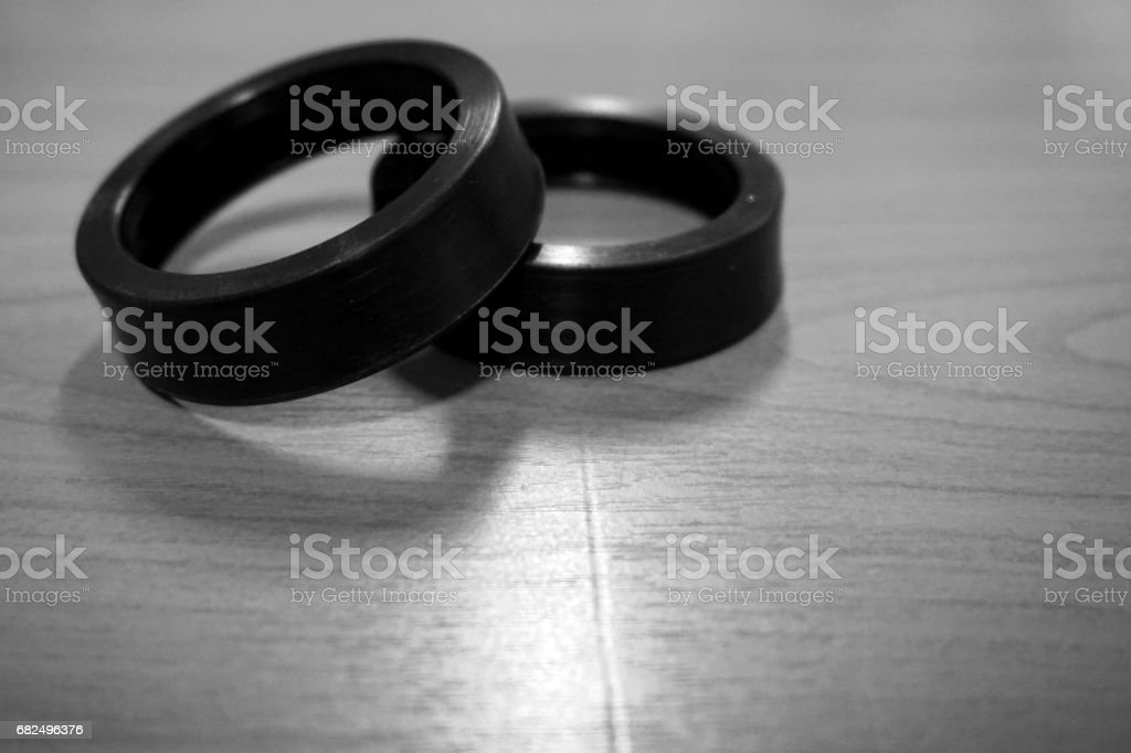 abstract rubber belt royalty-free stock photo
