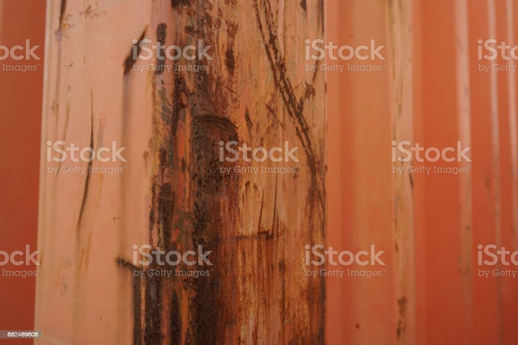 abstract rust on iron royalty-free stock photo