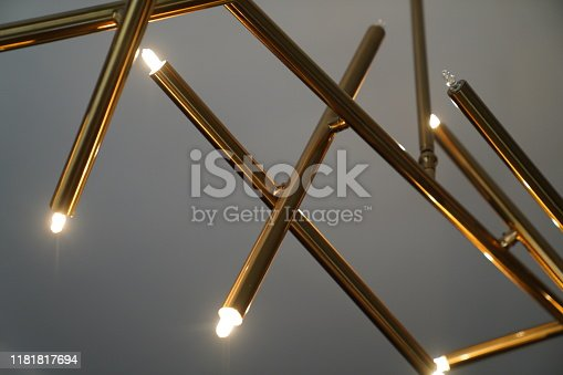 Abstract rustic led light bulbs