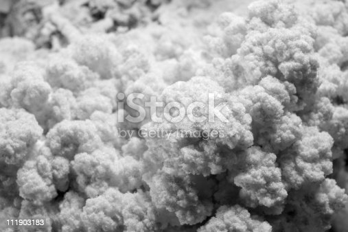 full frame abstract background showing a salty surface