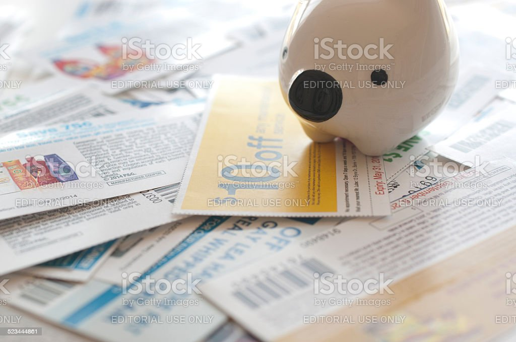 Abstract saving money concept. stock photo