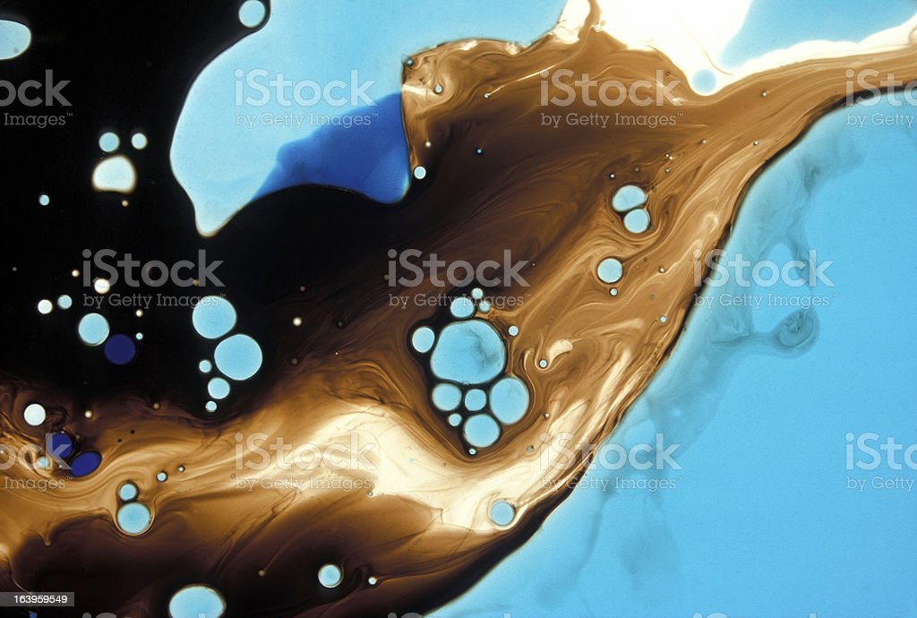 Abstract Science Background royalty-free stock photo