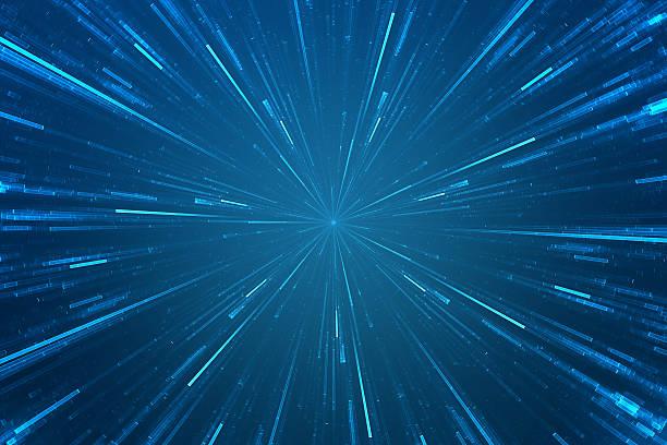 abstract science fiction futuristic background - teleport bildbanksfoton och bilder
