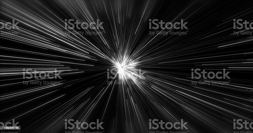 Abstract Science Fiction Futuristic Background stock photo