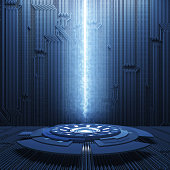 Abstract HighTechnology Background