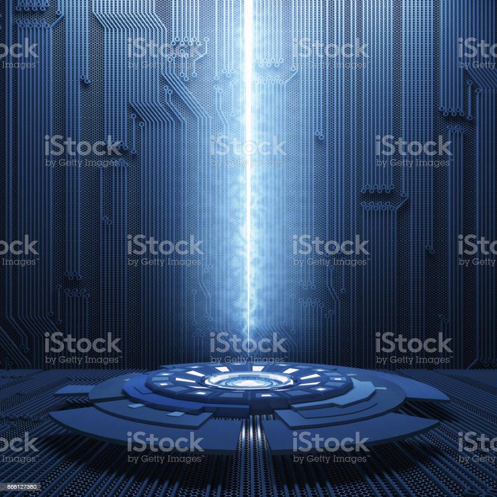 Futurista abstracto fondo de ciencia ficción - foto de stock