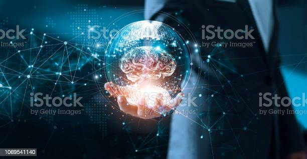 Abstract science network and innovation businessman holding brain in picture id1069541140?b=1&k=6&m=1069541140&s=612x612&h=bdufd rei27pi29as9ohlgobxcuugjyfmvzsiruqijc=