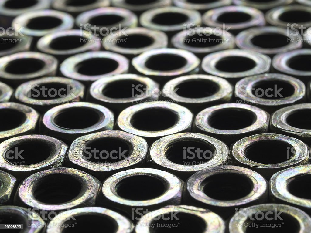 Abstract screw royalty-free stock photo