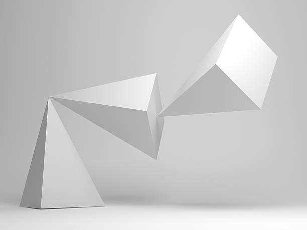scultura astratto - balance graphics foto e immagini stock