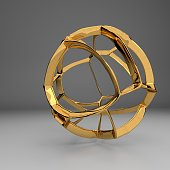 Abstract sculptural objects modern