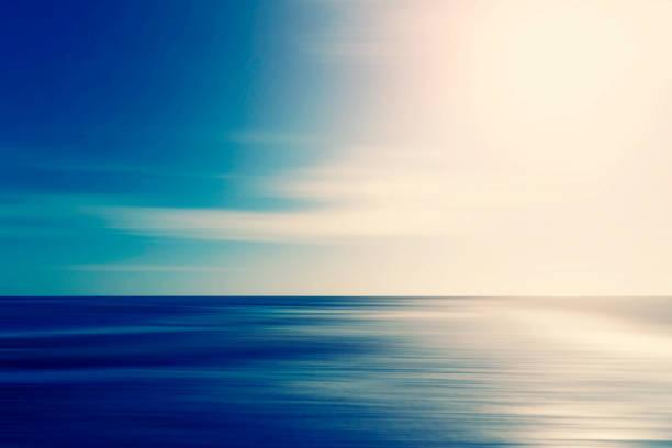 Abstraktes Meer und Himmelsgrundes – Foto