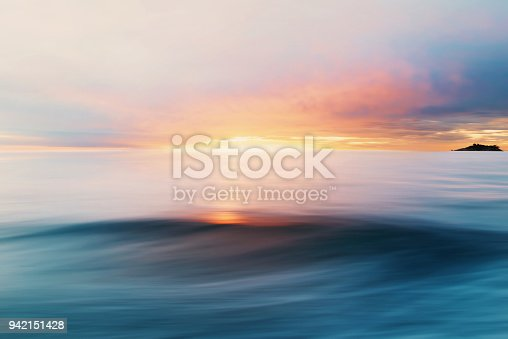 Abstract Sea and Sky Background