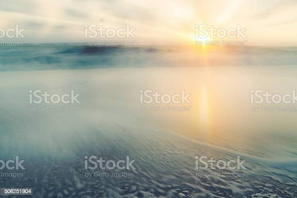 Photo of Abstract Sea and Sky Background – Sunrise