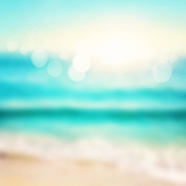 Abstract sea background stock photo