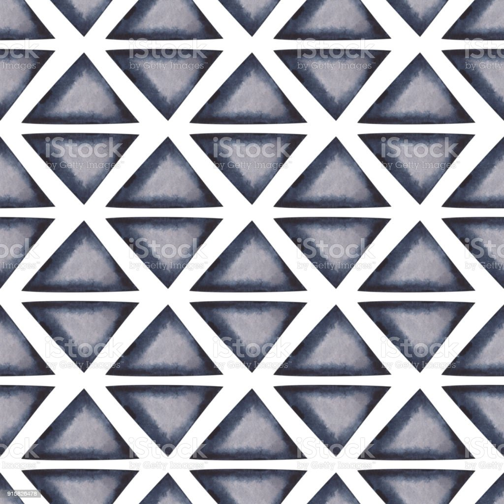 Abstract seamless geometric background stock photo