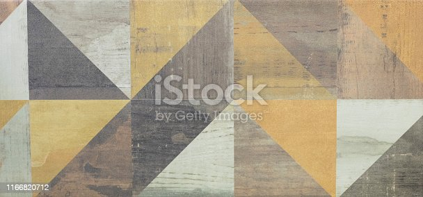 istock abstract seamless mosaic pattern, ceramic tile for interior 1166820712
