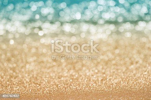 istock Abstract seascape bokeh. 825762832