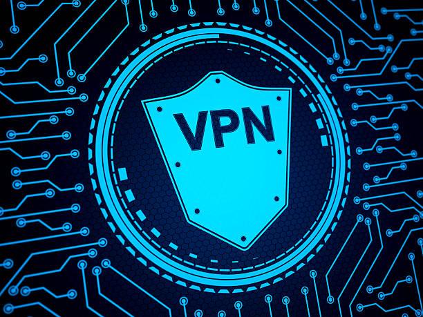 abstract security system shield - vpn bildbanksfoton och bilder