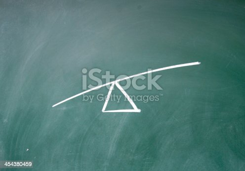 istock abstract Seesaw 454380459