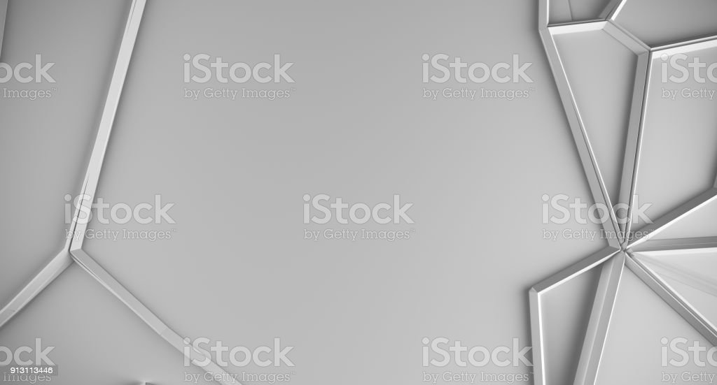 Abstract Shapes Low Poly Background royalty-free stock photo