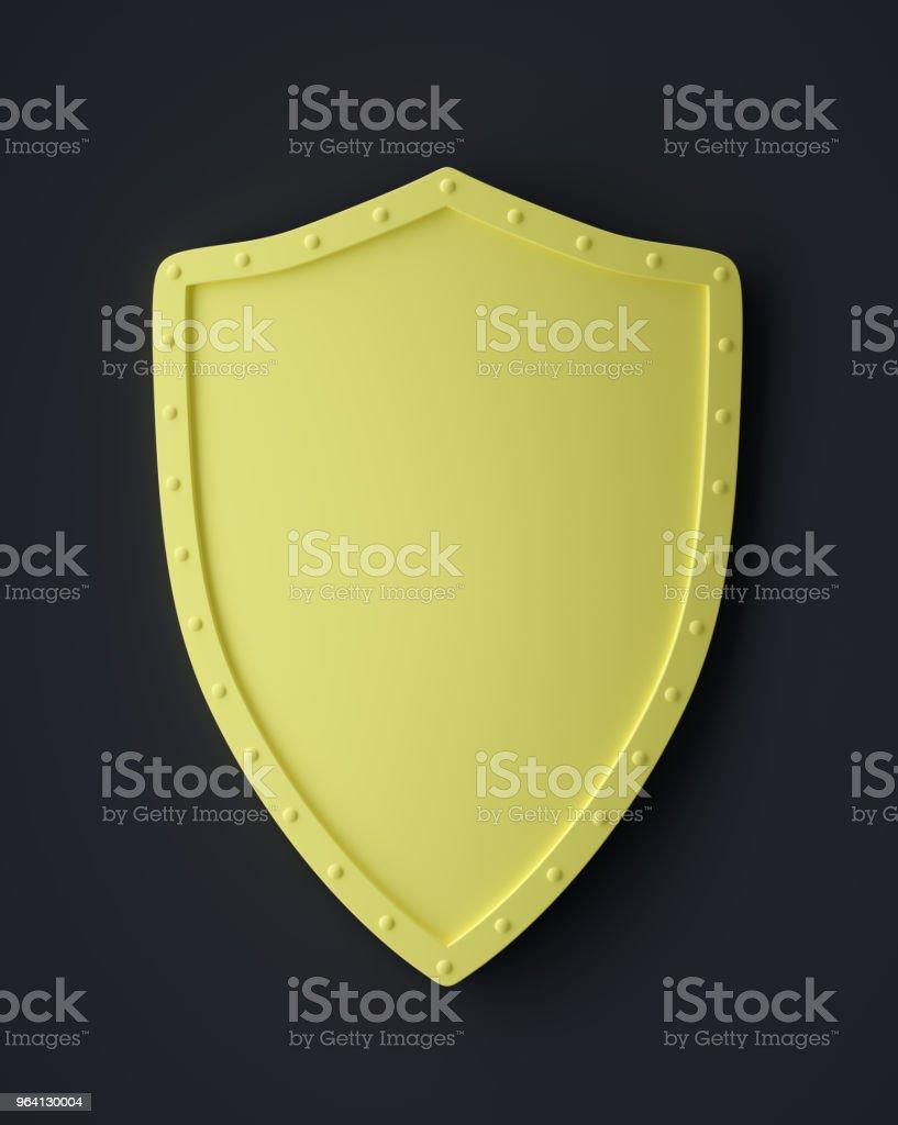 Abstract Shield Symbol stock photo