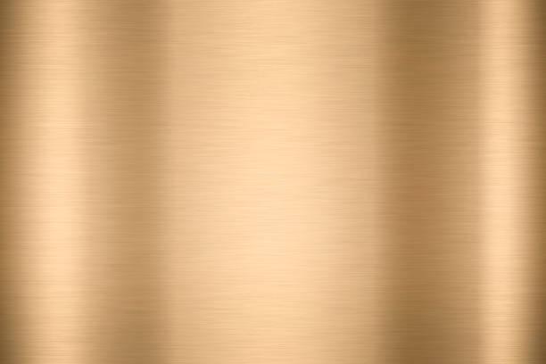 resumo da folha lisa brilhante metal ouro cor de fundo brilhante vintage placa de bronze cromado elemento textura simples folha bronze painel difícil cenário design conceptual, papel de parede de luz bandeira de aço polido. - cromo metal - fotografias e filmes do acervo