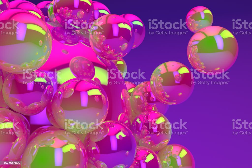 Abstract Shiny Sphere Background royalty-free stock photo