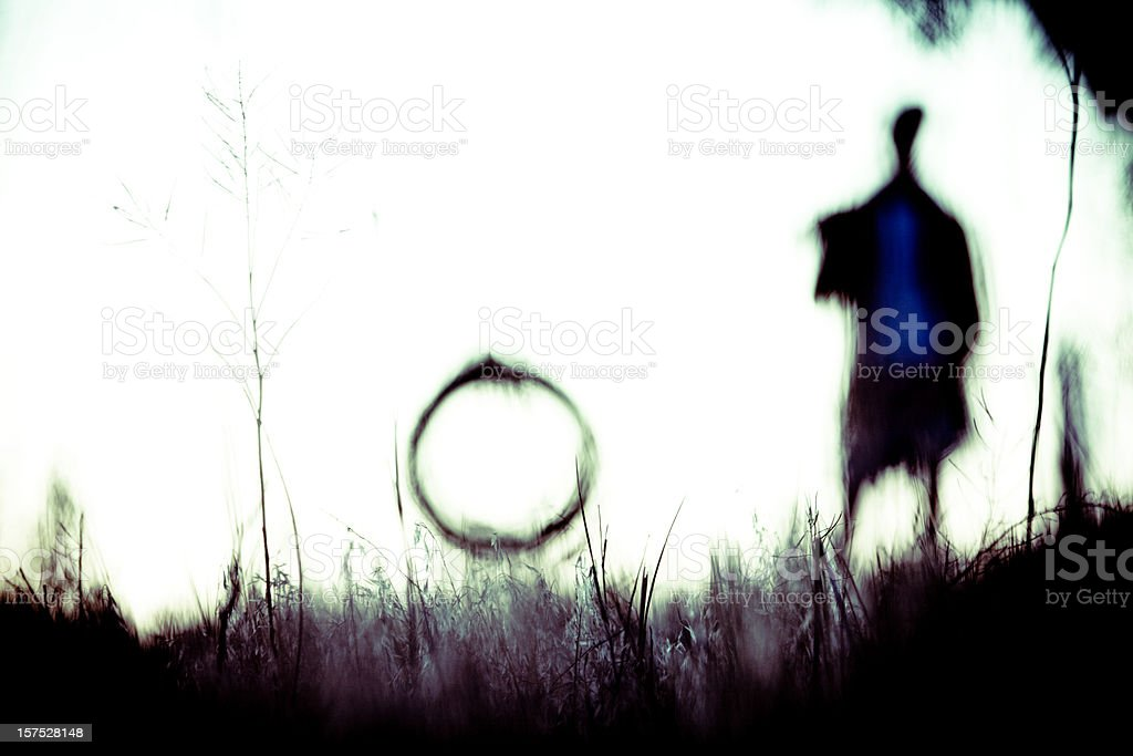 Abstract silhouette royalty-free stock photo