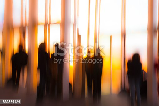 istock Abstract Silhouettes of People 639384424