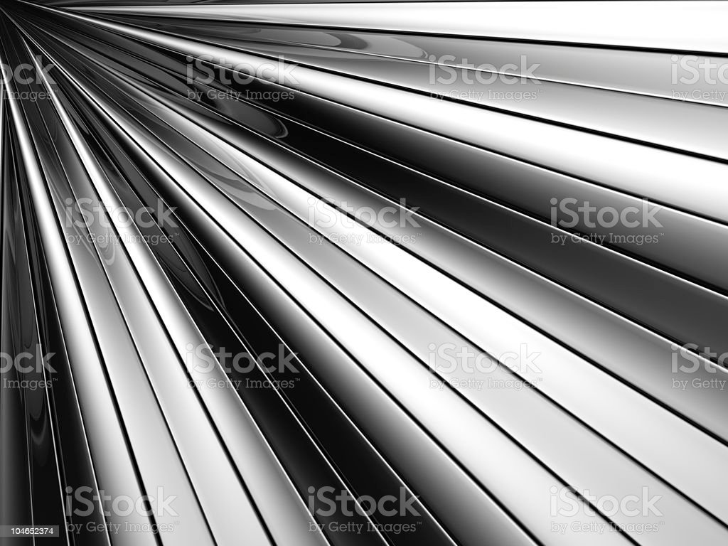 Abstract silver aluminium stripe background royalty-free stock photo