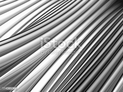 istock Abstract silver aluminium stripe background 114385080