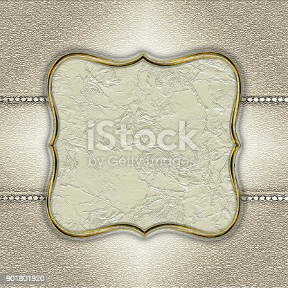 istock Abstract silver corporate creative background 901801920