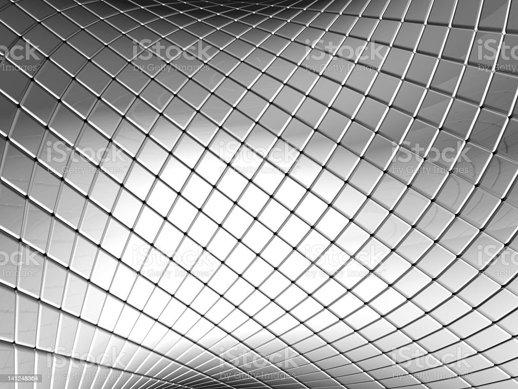 Abstract silver square pattern background royalty-free stock photo